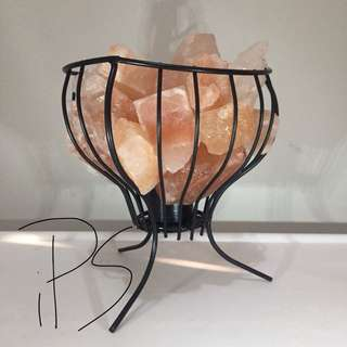 Himalayan Salt Lamp Iron Baskets