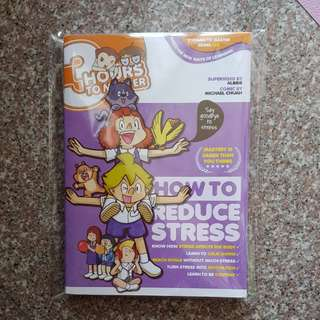 New from Candy Jem Gempak comic How to reduce stress book