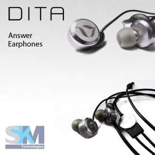 DITA Answer Earphones (The Answer)