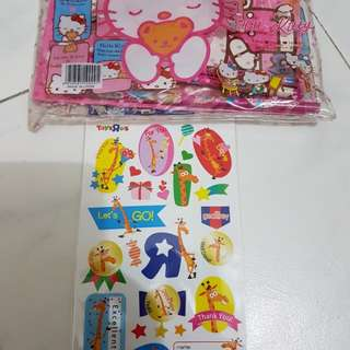 Hello Kitty Stationery Set...