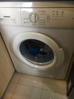 Siemens washing machine slim