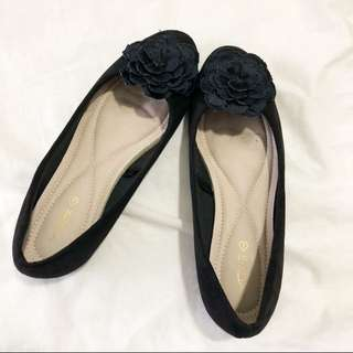 VNC flatshoes flower