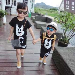 Disney kids terno