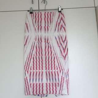 Ladies pencil Bardot skirt, size 6