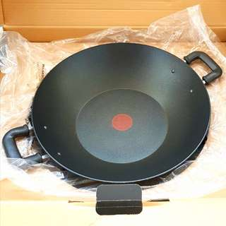 Tefal Wok 36cm with Lid and Free Fryer tool