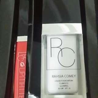 Rahsia Comey Liquid Foundation 20gm Free Lipmatte
