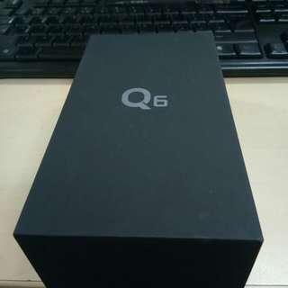 LG Q6 Astro Black - Brand new Globe Seal