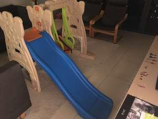 Grown n up Scramble N Slide Play Centre, Slide and Swing