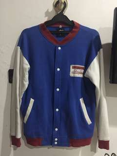 Red White and Blue Varsity Jacket