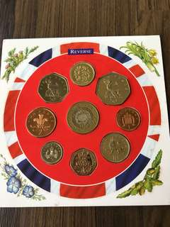 UK 1997 Uncirculated Coin Set