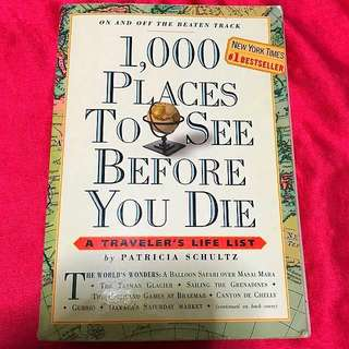 🆕A Traveler's Life List: 1,000 Places to See Before You Die book #idotrades