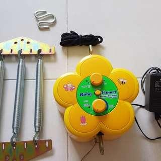 Baby Flower Electronic Cradle