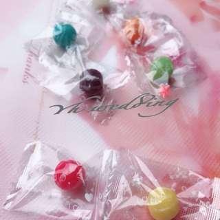 迷你彩球糖 柑仔糖 婚禮小物 送客喜糖 一公斤袋裝