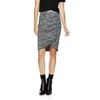 Aritzia Grey Skirt