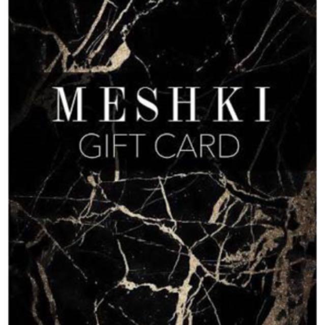 $100 Meshki E-Gift Card