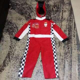 Car racer costume