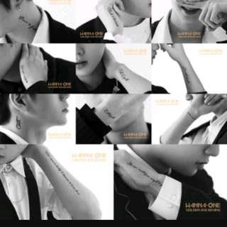[PO/MY GO]Non profit Wanna One golden age 3rd album