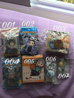 [SALE #2] Haikyuu merch!