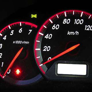 Toyota wish sports speedometer