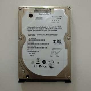 Hard Disk Laptop Seagate 120 GB