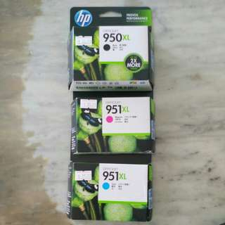 HP Ink Cartridges (951XL & 950XL)