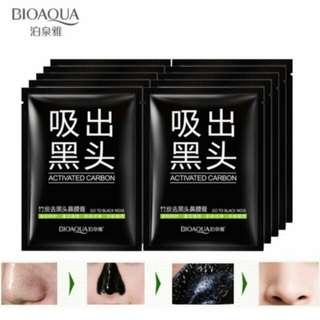 Bioaqua remove blakhead carbon 5pcs