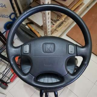Honda B series stock steering wheel
