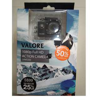 Valore 1080p Full HD Action Action Camera (VMS50)