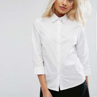 ASOS Petite Dress Shirt (BNWT)