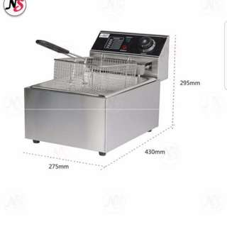 Stainless Steel Electric Deep Fryer