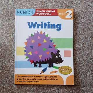 New Kumon writing book writing skills in step by step manner