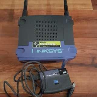 Linksys Wireless Modem & Router