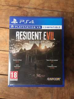 BD PS4 Resident Evil 7 biohazrd