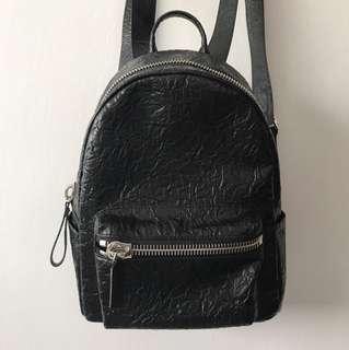 Charles & Keith Crumpled Backpack