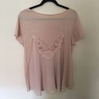 Seed Heritage size M pink top