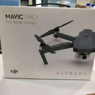 DJI Mavic Pro Fly More Combo (Brand New)