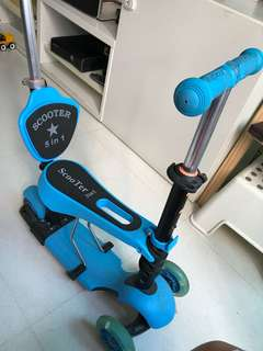 5 in 1 scooter