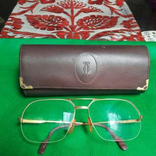 Kaca mata Cartier Authentic