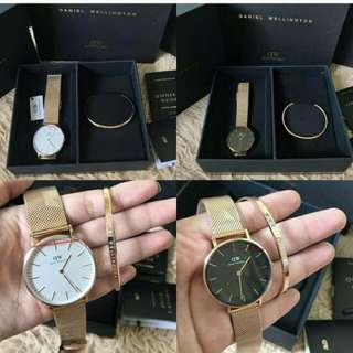 Daniel wellington w/ bangle