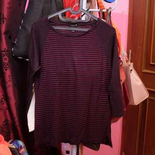 F21 burgundy shirt
