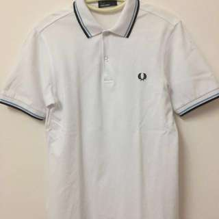 ORIGINAL Fred Perry Ringer Twin Tipped Polo Shirt