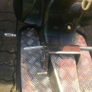[Clearstock] Vespa px sprint footrest with brake pedal