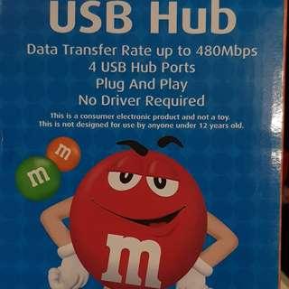 4-Way USB Hub