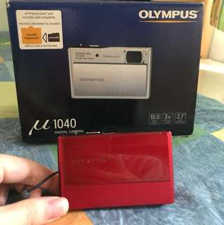 Olympus 1040 極薄紅色相機