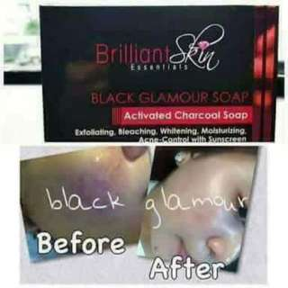 Activated Charcoal Black Glamour Soap