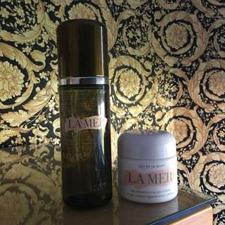 LA MER (WORTH OVER $600) The Moisturising Gel Cream & The Treatment Lotion