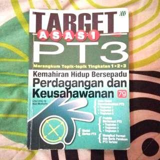 PT3 Kemahiran Hidup Bersepadu Perdagangan dan Keusahawanan