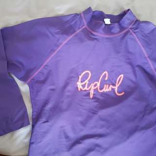Rip curl swimming top for girls