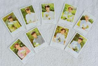 LIMITED EDITION EXO x NATURE REPUBLIC photocards P180 each