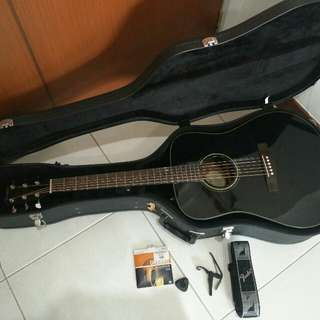 Fender Acoustic Guitar with Hardcase